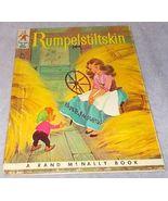 Tip Top Elf Book Rumpelstiltskin 1959 Elizabeth Webbe Nice Example - $4.95