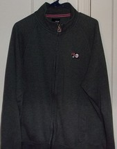 Fila Mens Large Vintage Embroidered Zipper Front Long Sleeve Jacket - $17.96