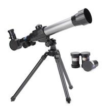Kids Astronomical Telescope Tripod Refractor Children Gift Refractive Be... - $37.39