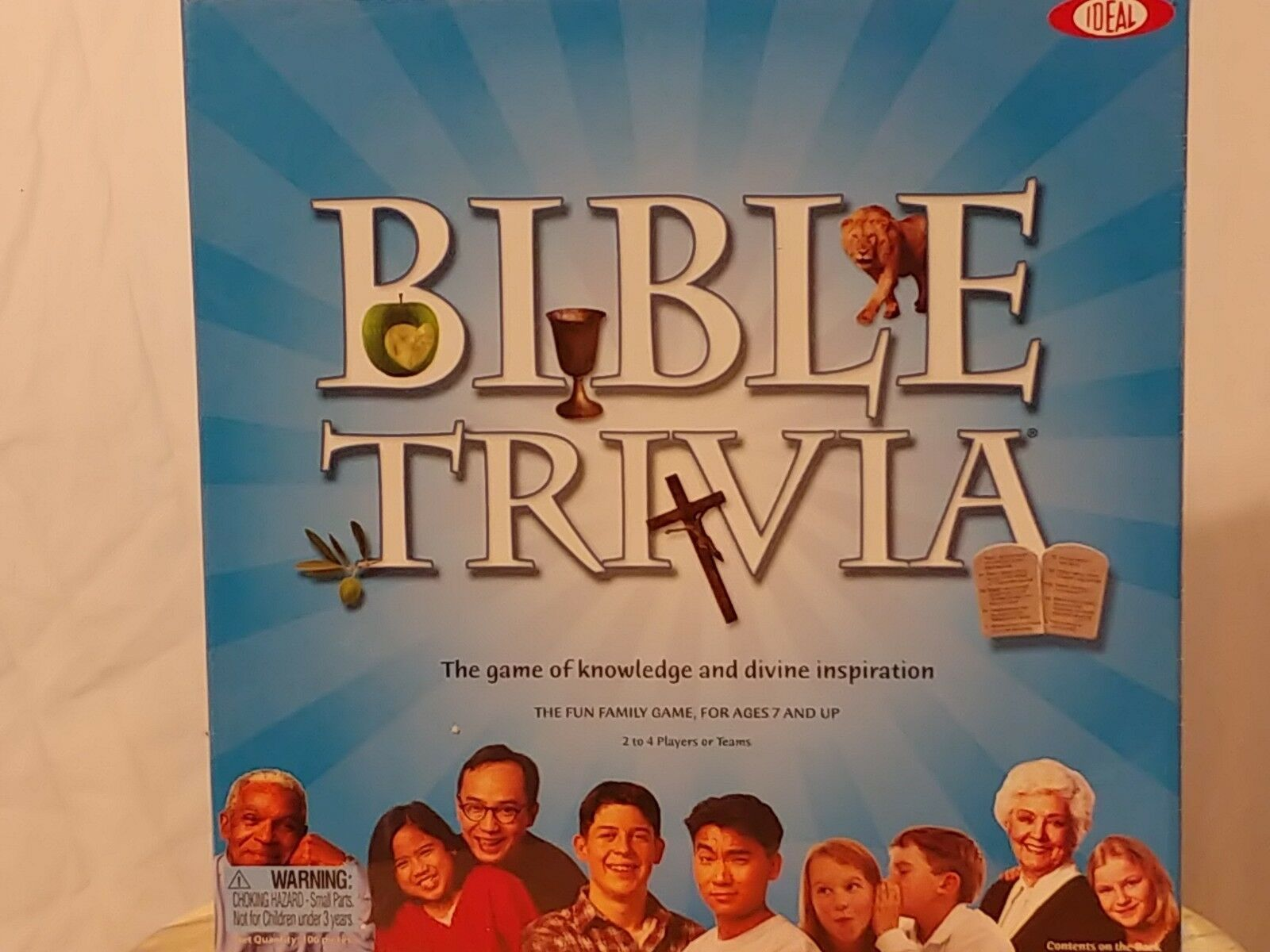 Primary image for Ideal Bible Trivia Board Game Old and New Testament Religion Religious Fun