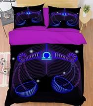 3D Libra 26 Bed Pillowcases Quilt Duvet Single Queen King US Summer - $102.84+