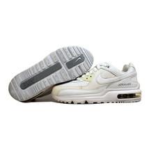 Nike Air Max Wright WM LE White/White-Metallic Silver 378178-100 Women's SZ 6 - $45.34