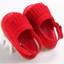 Children infant PU Tassel jelly Flat Soft Sole Anti-slip Sandals for bab... - $8.00