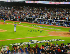 MIKE MONTGOMERY Signed Cubs 2016 World Series Game 7 Last Out 16x20 Phot... - $78.21