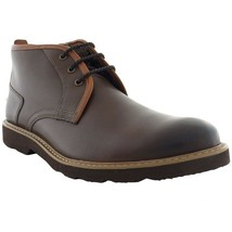 Mens Florsheim Casey dress Chukka boot Brown Smooth Leather Lace Up 1325... - €100,81 EUR