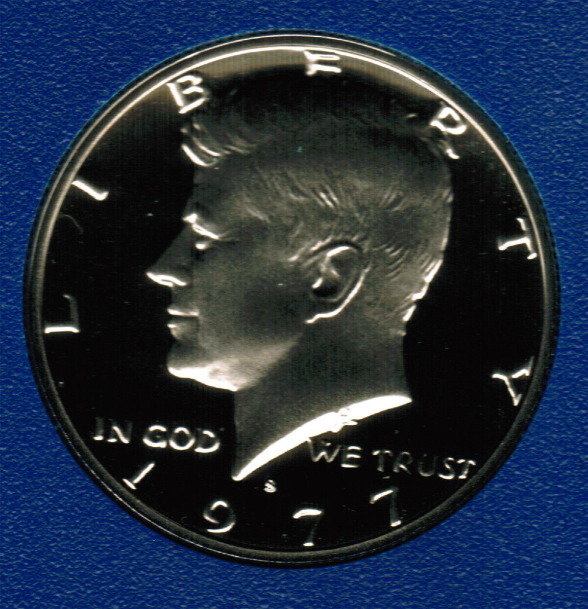 1977 S  Proof Kennedy Half Dollar CP2016 image 1