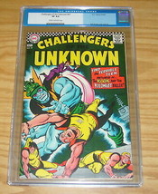 Challengers of the Unknown #57 CGC 8.0 silver age dc comics - tino terri... - $92.99