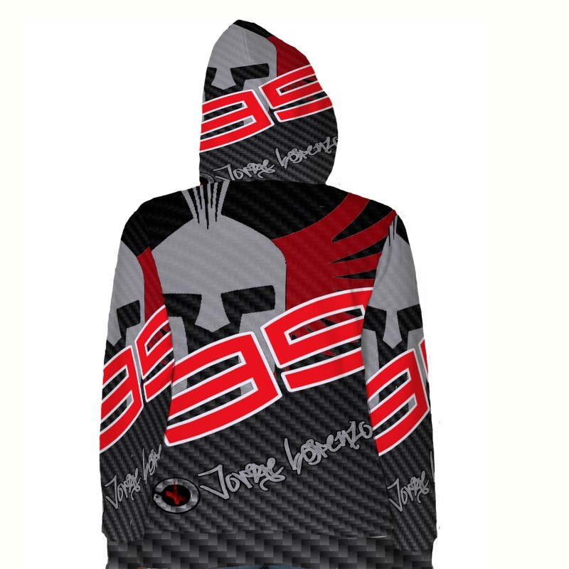 Jorge Lorenzo Racing MOTO GP   Hoodie Fullprint for women