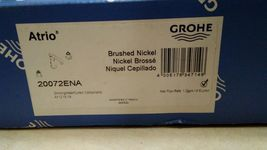 Grohe 20072ENA Brushed Nickel with handles Atrio Fuacet New open box authentic! image 3