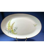 "Hutschenreuther Gelb Bavaria Germany Forest Spring #8410 13 1/4""  Oval P... - $15.74"