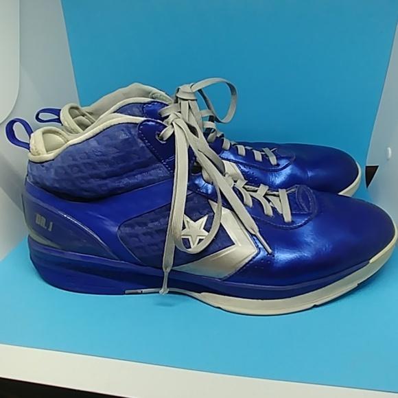 Converse Dr. J Basketball shoes blue size 16 image 3