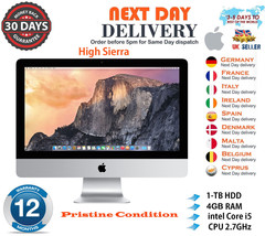 "Apple iMac 21.5"" Intel Quad Core i5 2.7GHz 4GB RAM 1TB HDD Mid 2011 A Gr... - $494.66"