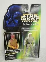 Kenner Star Wars Figurine The Power Of Force- Skywalker Luke Hoth- Neuf-... - $4.77