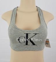 Calvin Klein Women's Retro Calvin Lightly Lined Bralette S QF1643 - $18.99