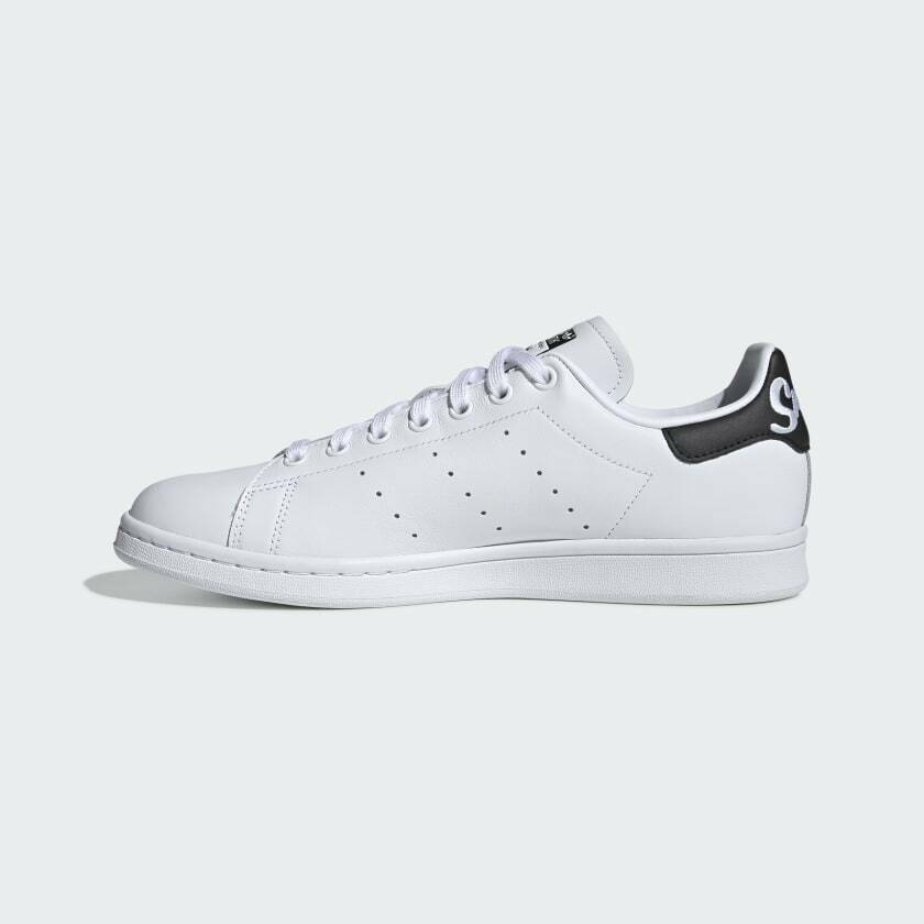 Adidas Originals Men's Leather Stan Smith Iconic White Sneakers EE5818