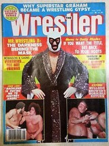 June 1979 Inside Wrestling Magazine Mr.Wrestling II The Darkness Behind the Mask
