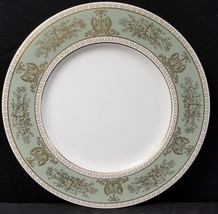 """Wedgwood Gold Columbia Sage Green Dinner Plate 10.75""""(multiple available) - $37.36"""