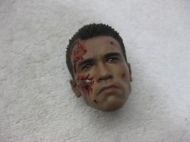 Terminator 2 T-800 DX 13  battle damaged  head sculpt 1 1/6th Scale - Ho... - $57.07