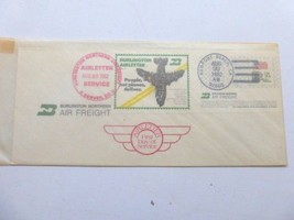 Burlington Northern Air Freight Airletter 1st Day Service Cover, Aug 30 ... - $9.80
