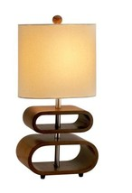 """Adesso 3202-15 Rhythm 19.5"""" Table Lamp, Smart Outlet Compatible, One Siz... - $78.24"""