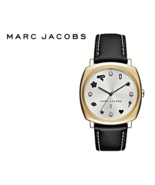 MARC JACOBS Women Mandy Charms and Crystals Black Watch MJ1564 NWT - $149.00