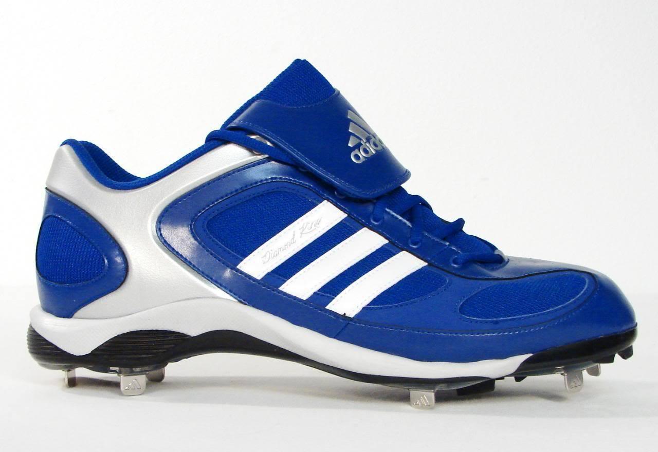 4b9d6c7081fa25 S l1600. S l1600. Previous. Adidas Diamond King Metal Baseball Cleats Shoes  Softball Blue  amp  White Mens NEW