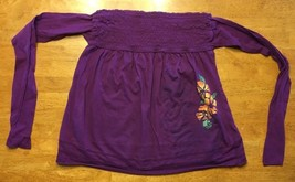 Arizona Girl's Purple Halter Top Shirt / Blouse Size: Medium - $7.91