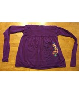 Arizona Girl's Purple Halter Top Shirt / Blouse Size: Medium - $7.91