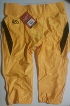 Rawlings Football Pants Yellow Mens Size Large Adult - $31.50