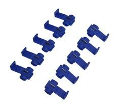 APS 100PCS Quick Car Splice Wire Connectors 18-14 Gauge Scothloks Instan... - $10.90