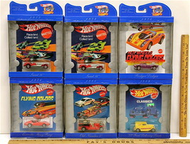 5 Pc 1997 Vintage Hot Wheels 30 Years 1968-1998 Corvette Sting Ray 1:64 NIB - $37.39