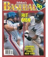 Howard Johnson unsigned New York Mets Athlon Sports 1990 MLB Baseball Pr... - $10.00