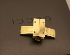 New Gucci Replacement Clasp - 7800 S -  Gold Tone -24 MM Wide - $59.95