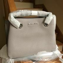MICHAEL KORS Teagen Small MK Signature Leather Messenger Crossbody Bag - $147.51