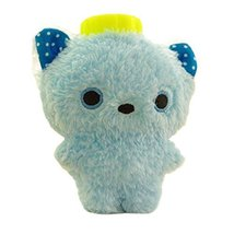 Mini Cartoon Washable Soft Cover Hot Water Bottle Warm Hand Bag-Blue - $17.39