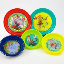 Dr Seuss Hologram Plate & Bowl 5pc Set Cat in the Hat Horton Hears Ho On... - $18.69