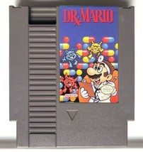 ☆ Dr. Mario (Nintendo 1990) AUTHENTIC Original NES Game Cart Tested & Wo... - $11.99