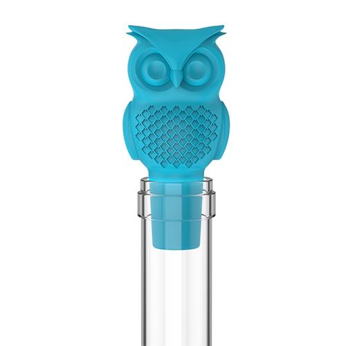 wine stopper bottle, Hoot Owl funny novelty reusable wine bottle stoppers