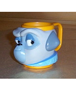 Disney Pocahontas Dog PERCY Figural Composite Plastic Cup Mug by Applause - $7.59