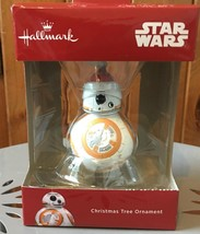 Hallmark Star Wars Droid BB-8  in Santa Hat Boxed Christmas Ornament - $16.99