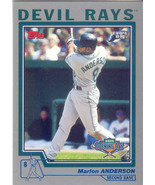 Marlon Anderson ~ 2004 Topps Opening Day #3 ~ Devil Rays - $0.20