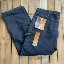 Wrangler Carpenter Blue Jeans Men's Size 40 x 30 Pants Tech Pocket New - $24.74