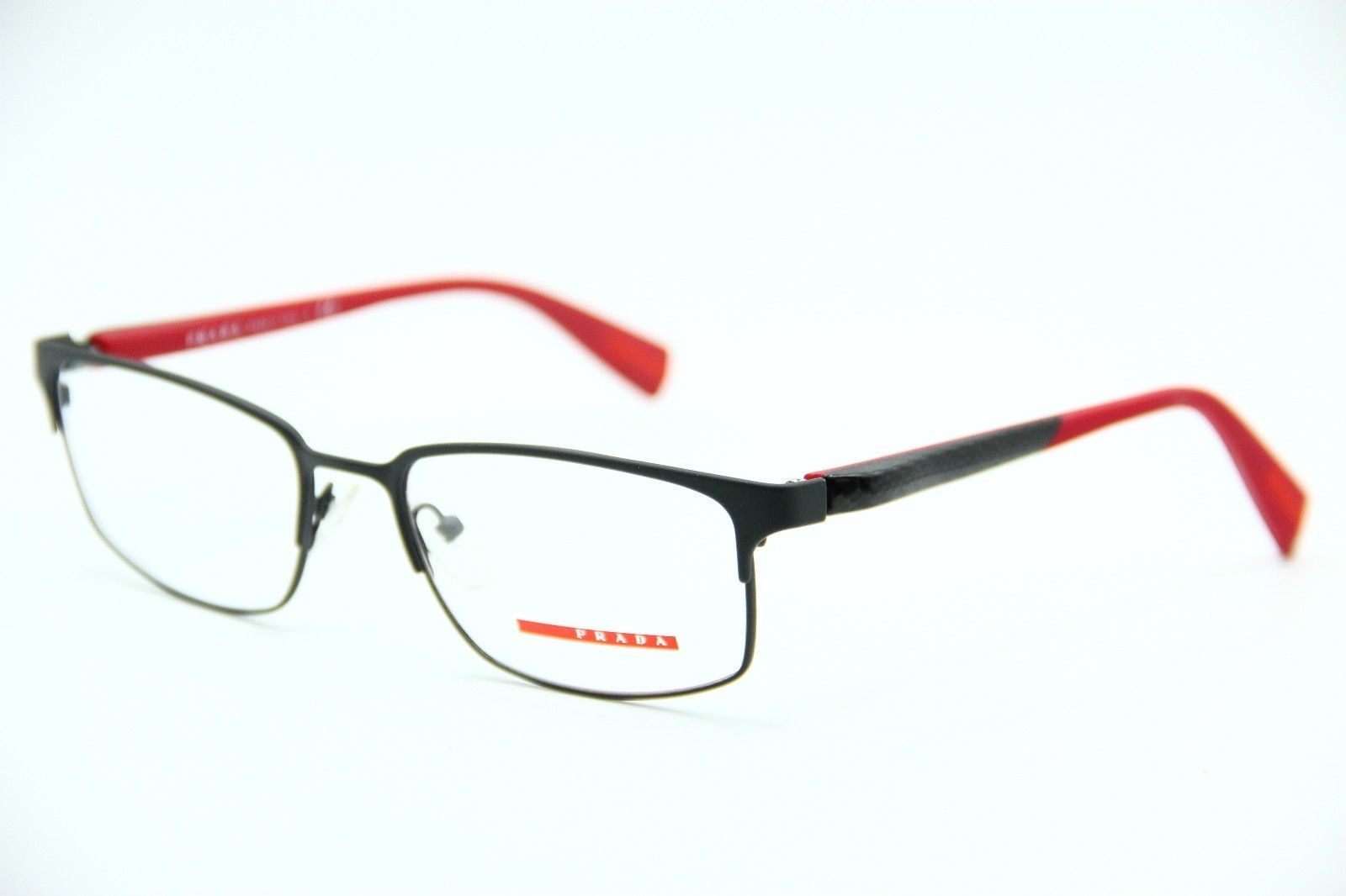 NEW PRADA SPORT VPS 50F TIG-1O1 GREY EYEGLASSES AUTHENTIC RX VPS50F 54-18