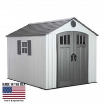 Lifetime 8x10 Outdoor Storage Shed Kit w/ Vertical Siding [60202] - $1,402.90