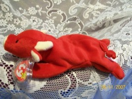 TY Beanie Baby - TABASCO the Bull 4th Gen hang tag - $12.13