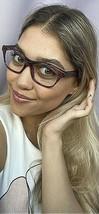 New ALAIN MIKLI A 06030 020D 52mm Cats Eye Women's Eyeglasses Frame Italy - $129.99
