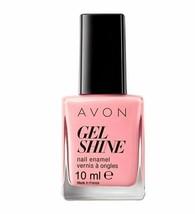 AVON Mark Gel Shine Dazzle Pink Nail Enamel 10 ml New Boxed  - $3.75