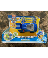 Paw Patrol Mighty Pups Super Paw Chase's Powered Up Cruiser Transforming... - $29.69