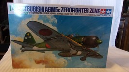 1/48 Scale Tamiya IJN Zero Fighter A6M5c Zeke Airplane Kit BNOS #61027 - $74.25