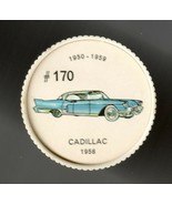 1958 CADILLAC Jell-O Picture Wheel #170 - $5.00